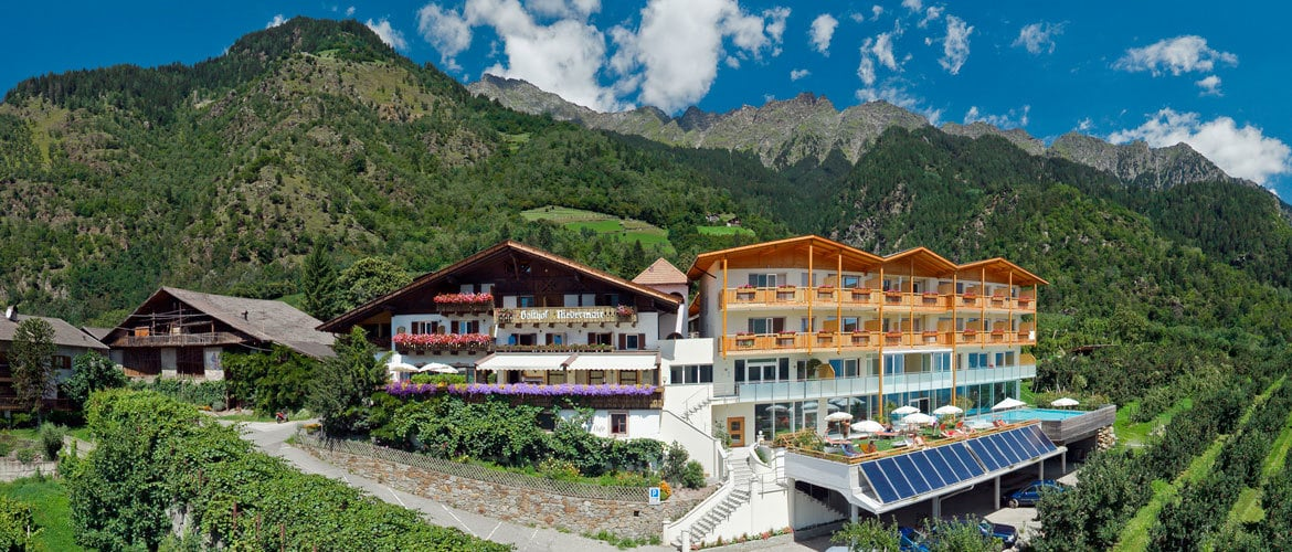Hotel Niedermair - A sun-kissed location with a mountain view
